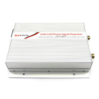 1PCS 5000square meters suitable 3W(35dBm) Output Power GSM Cell Phone Booster Signal Repeater GSM 900Mhz Amplifier