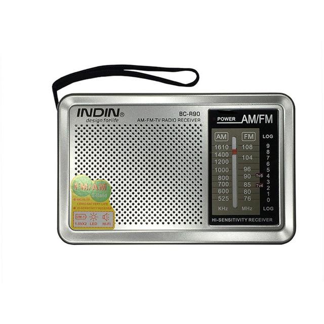 BC-R90 Multi-propósito AM/FM/SW regalo bestseller de Radio para las personas de edad avanzada