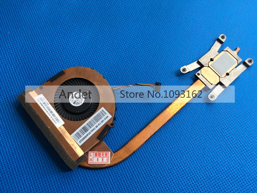 New Original For Lenovo ThinkPad T440S T450S CPU Cooling Fan Heatsink Integrated Graphics 04X0445 04X1850 01AW566 genuine for lenovo thinkpad yoga 14 cpu cooling fan heatsink 00hn607