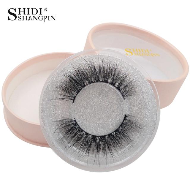SHIDISHANGPIN mink eyelashes natural long 3d mink lashes 3d lashes false eyelashes false lashes extension faux cils maquiagem #7