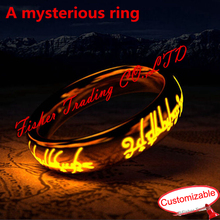 Trueman room escape prop, a mysterious ring, put the ring to 4 places one by one to open the door, game props for Takagism game недорго, оригинальная цена