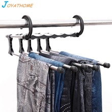 Joyathome Multi-Layer Pants Ties Scarf Shawl Storage Rack  Magical Clothes Hanger Magic Drying Racks Home Accessories