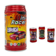 New RC cars Coke Can Mini Speed Radio remote control Electronic car Toy Micro Racing RC Car the remote control toys for children