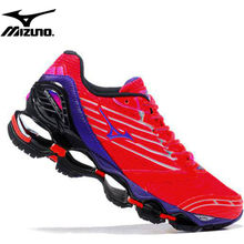 Original MIZUNO WAVE Prophecy 5 Professional Running Shoes Red Women Shoes Sneakers Running Shoes WeightLifting Shoes(China)