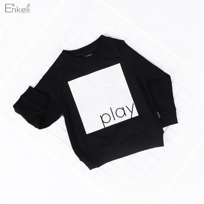 Enkelibb Sweatshirt Kids Clothing Tops Fall Toddler Girl Full-Sleeve Autumn Boys Children