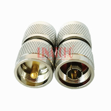 copper nickel plating RF 50 ohm straight pl259 uhf male to n male antenna connector