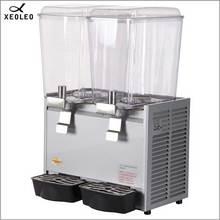 XEOLEO двойной резервуар диспенсер для напитков 18л* 2 диспенсер для фруктового сока 200 в диспенсер для смешивания сока фонтан тип машина для напитков