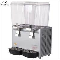 XEOLEO Doppel tanks trinken dispenser 18L * 2 obst saft dispenser 200V Mischen Saft Dispenser Brunnen typ Getränke maschine