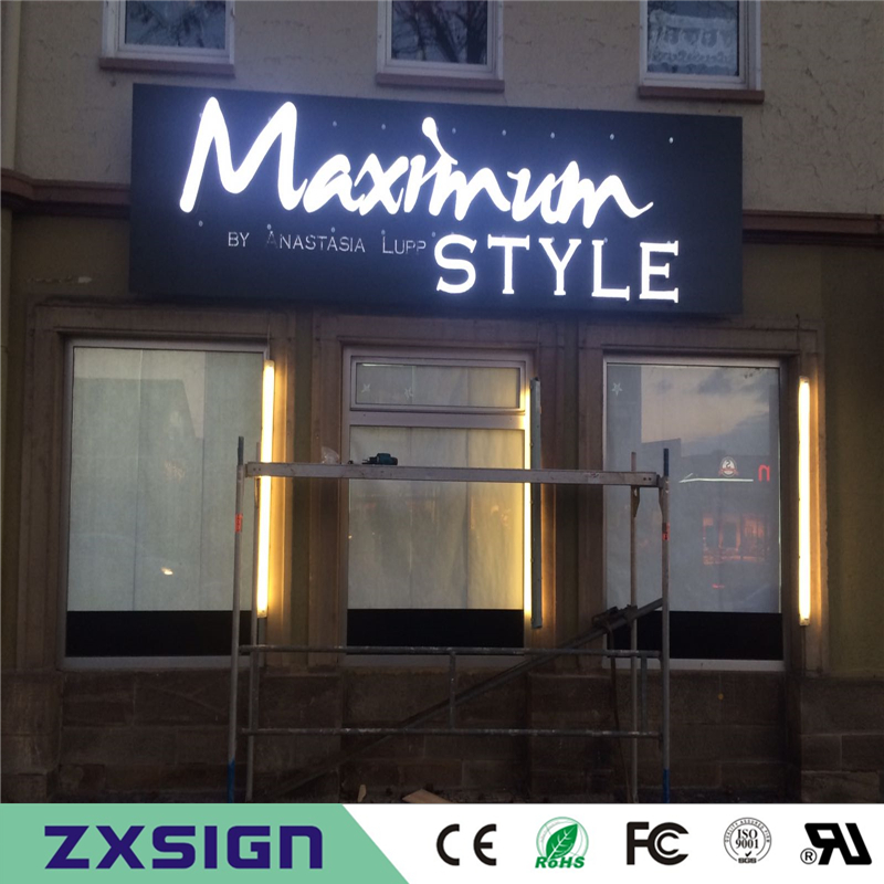 Factory Outlet Custom High Brightness Outdoor Acrylic Led Signs Letras Decorativas Luminosas