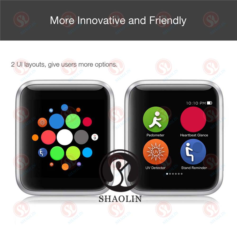 Image 2 - 42mm Bluetooth Smart Watch Series 4 SmartWatch for iOS Android Pedometer Message synchronization IWO 5 6 7 Upgrade Milanese-in Smart Watches from Consumer Electronics