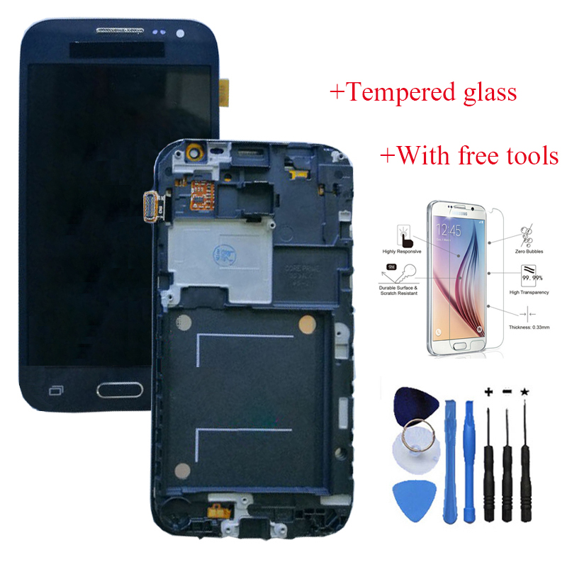 OEM LCD Touch Screen Digitizer + Frame Replacement For Samsung Galaxy core prime G360 +With free tools