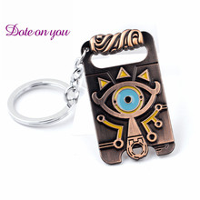 Anime game The Legend of Zelda: Breath of the Wild choker vintage necklace Big eyes Logo alloy Pendant Charm jewelry fans Gift