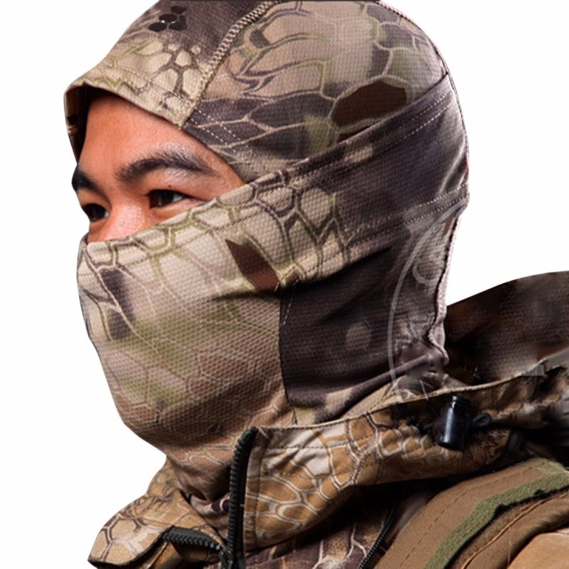 Multicam CP Camouflage Tight Balaclava Tactical Airsoft Hunting Outdoor Military Motorcycle Ski Cycling Full Face Mask