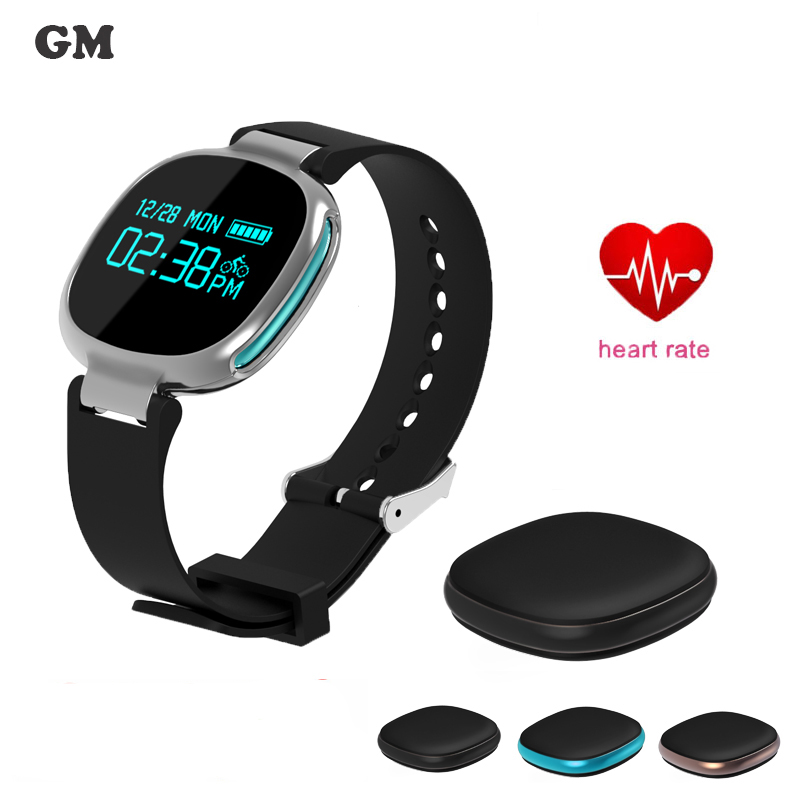 Smartband Watches E08 Blood Pressure Bluetooth Bracelet Heart Rate Monitor Smart Wristband Fitness for Android IOS
