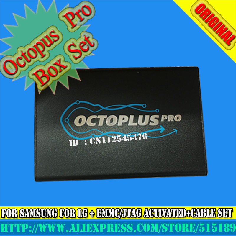 gsmjustoncct Octoplus pro Box for Samsung for LG JTAG Activated with 19cables