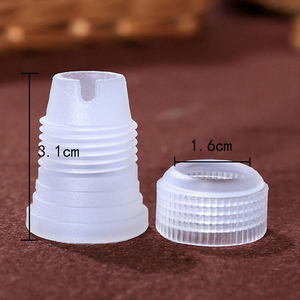 Image 5 - 10 adet plastik dekorasyon ağız dönüştürücü adaptör şekerleme pasta İpuçları bağlantı memesi setleri kek araçları pişirme