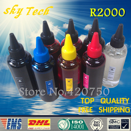 Quality Dye Refill ink suit for 8 colors printer epson photo R2000 , suit for T1591 T1592 T1593 T1594 T1597 T1598 T1599 T1590 dye refill ink suit for pgi225 cli226 replacement ink suit for canon mg5120 5220 6120 8120 ip4820 mx882 ix6520