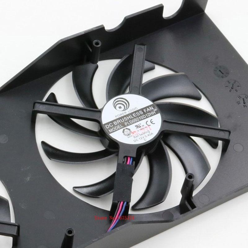 10 pcs/lot radiator computer cooler DC BRUSHLESS FAN for