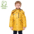 Pcora los niños abajo abrigo de invierno chaqueta gruesa mantener caliente 3 colores disponibles x-larga con capucha cierre de cremallera marca ropa de los niños
