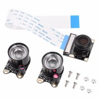 Camera Module For Raspberry Pi 3 2 B Wide Angle Fisheye Lens With Fill Light