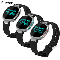 Fuster E08 Fitness Fasgion Braccialetto Intelligente Supporto APP GPS Movimento Traccia Record e Remote Camera Bluetooth e Musica Banda Intelligente
