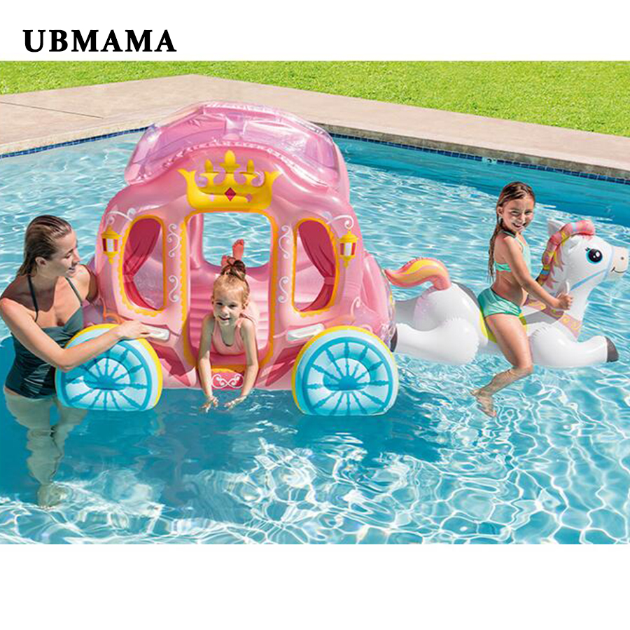 Inflatable Car Toys Water Play Pool Kids Summer Party Toy Babies Ocean Ball Pool Inflatable Children's Tent