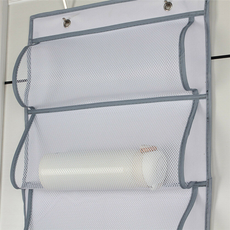 Image 3 - Wall Hanging Storage Bags Organizer Sundries Pocket Pouch Holder Home Decor Household  Large Capacity-in Storage Bags from Home & Garden