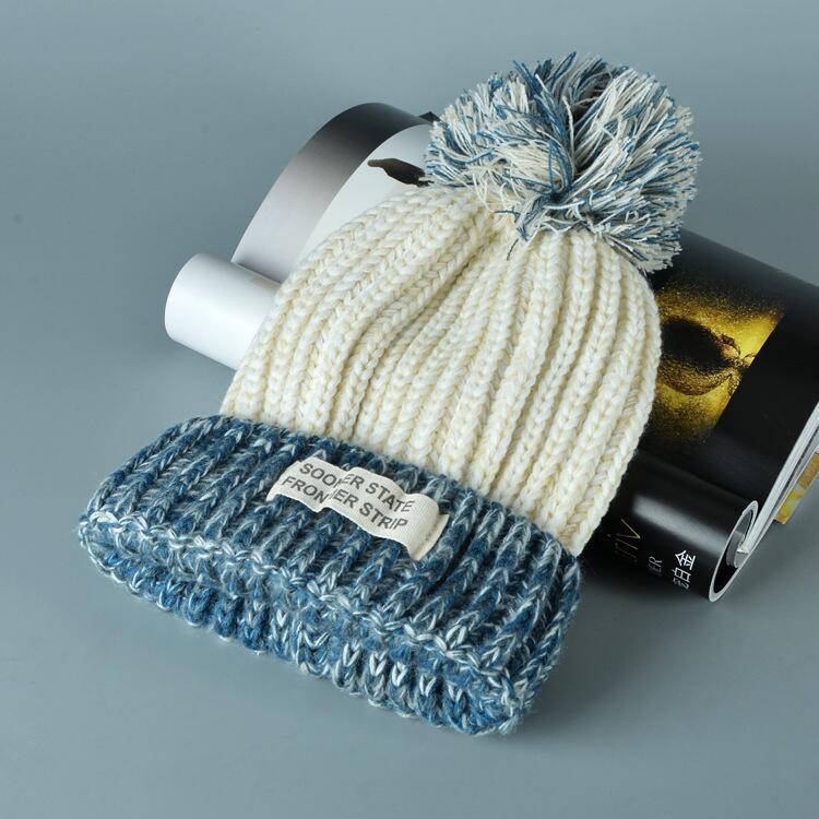 قبعة صوف دافئة نسائية 12