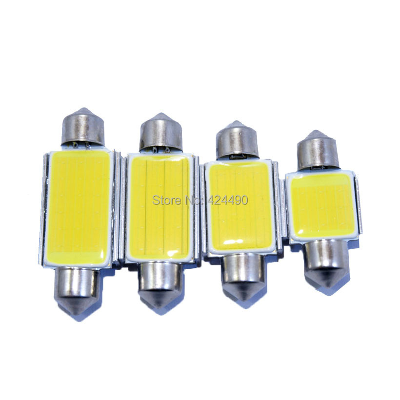 2pcs Super Bright 31mm 36mm 39mm 41mm C5W C10W COB LED CANBUS Car Festoon Lights Auto Interior Dome Lamp Reading Bulb White 12V high quality 31mm 36mm 39mm 42mm c5w c10w super bright 3030smd car led festoon light canbus error free interior doom lamp bulb