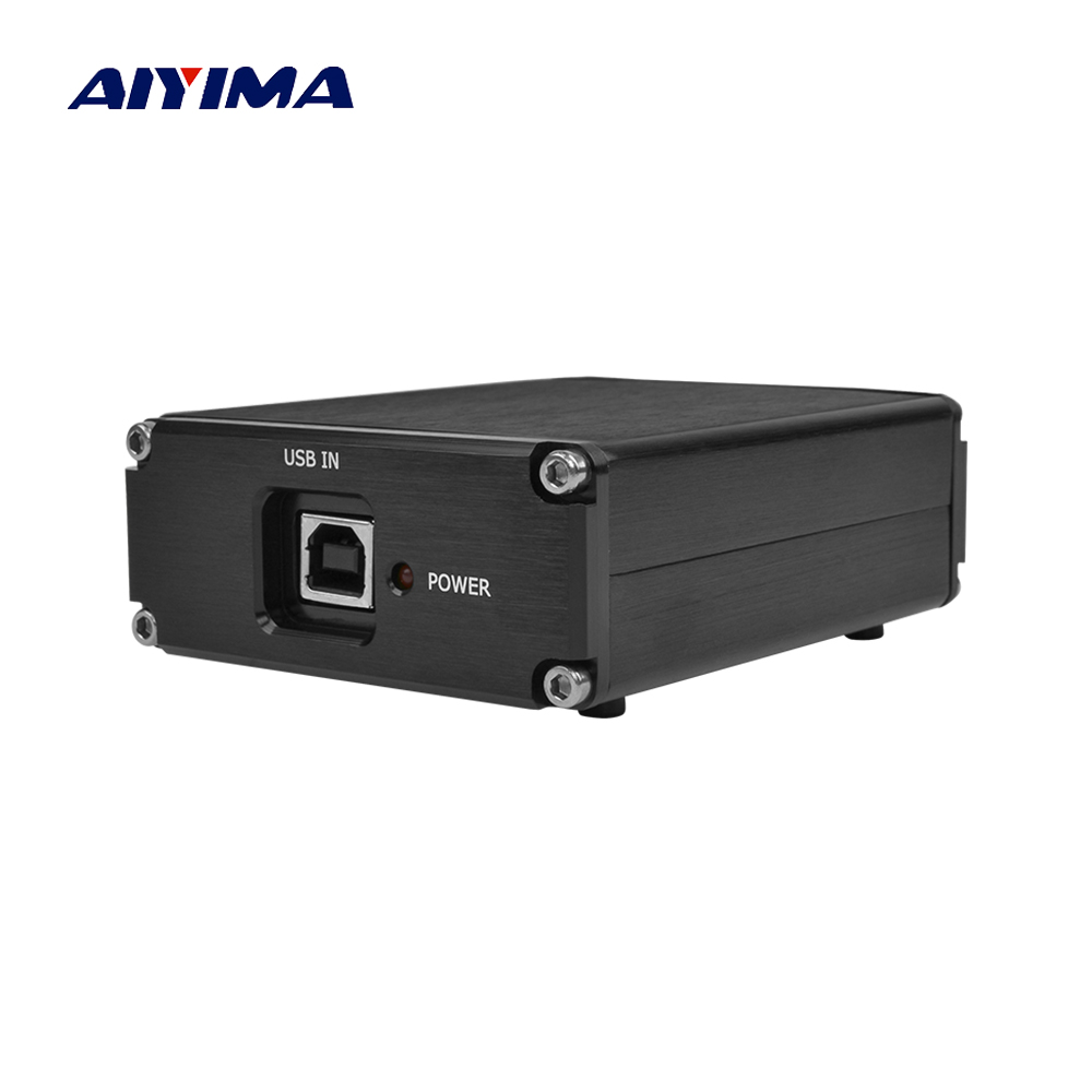 AIYIMA ES9028Q2M + SA9023 décodeur USB fièvre carte de décodage Audio DAC carte son bricolage pour Amplificador amplificateurs Home cinéma