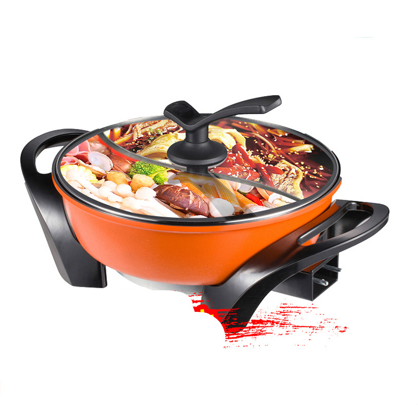 Hot Plates Electric hotpot Korean multi-functional electric heat pot household not glueHot Plates Electric hotpot Korean multi-functional electric heat pot household not glue