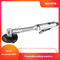 WX 813 Air pneumatic Cutter 18000RPM 3 75mm Pneumatic Cutting machine Tool with extra long handle