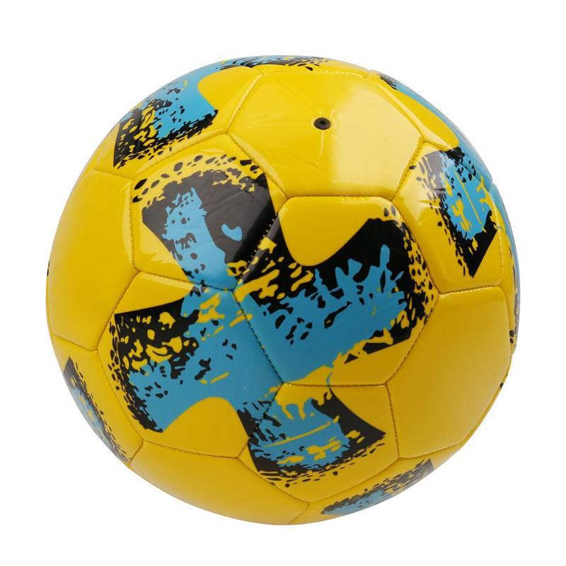 PU Pallone Da Calcio Ufficiale Size 5 Partita Porta Da Calcio League Sport All'aria Aperta Palle di Formazione per I Ragazzi