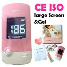 CE ISO Монитор Фетальный Допплер Фетальный Монитор Сердечного ритма для Беременной Матери Будущего Ребенка ЖК-Большой Экран