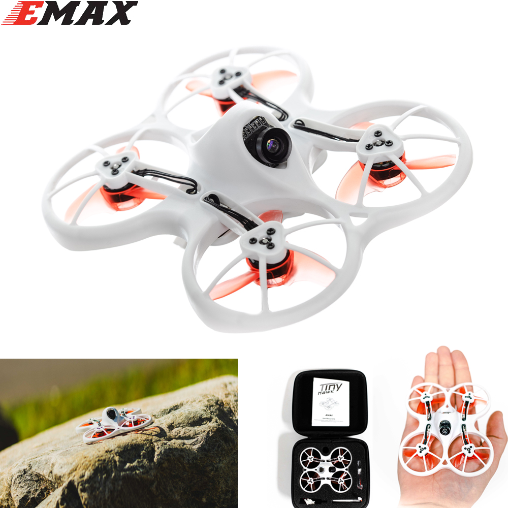 Emax Tinyhawk F4 4in1 3A 15000KV 37CH 25mW 600TVL VTX 1S Indoor FPV Racing Drone FRSKY D8 PNP / BNF Camera FPV Racing Drone