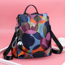 2019 Casual Oxford Backpack Women Black Waterproof Nylon School Bags for Teenage Girls High Quality Fashion Travel Tote Backpack casual oxford backpack women black waterproof nylon school bags for teenage girls daypack bags rucksack travel tote backpack 23