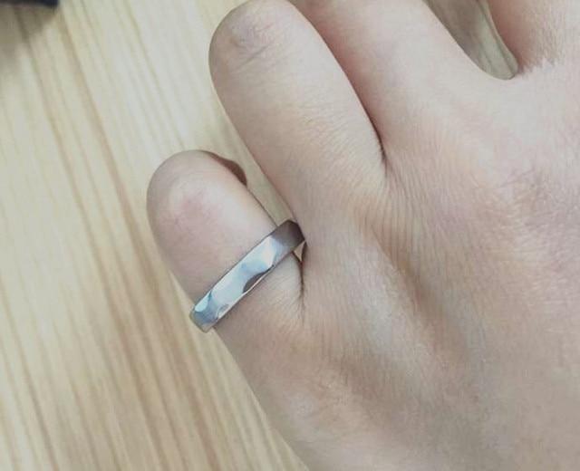Clic Engineer Ring Iron Wedding For Pinky Best Women Men Gift Enginneers