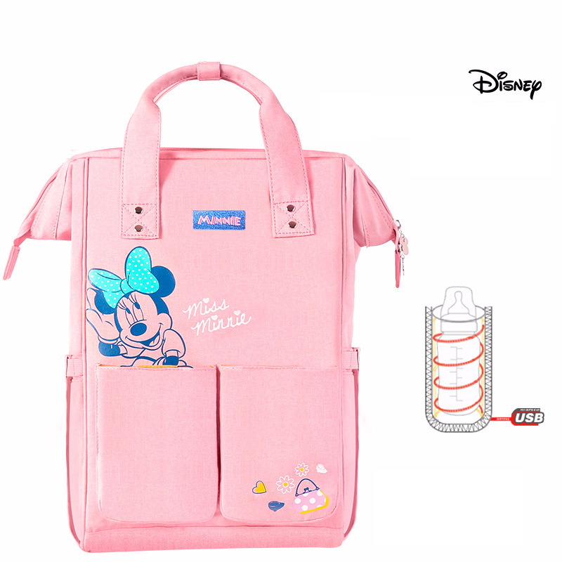 Disney-Mummy-Bag-Multifunction-Large-Capacity-Double-Shoulder-Travel-Backpack-Baby-Handbag-Bottle-Bag-Fashion-Insulation (3)