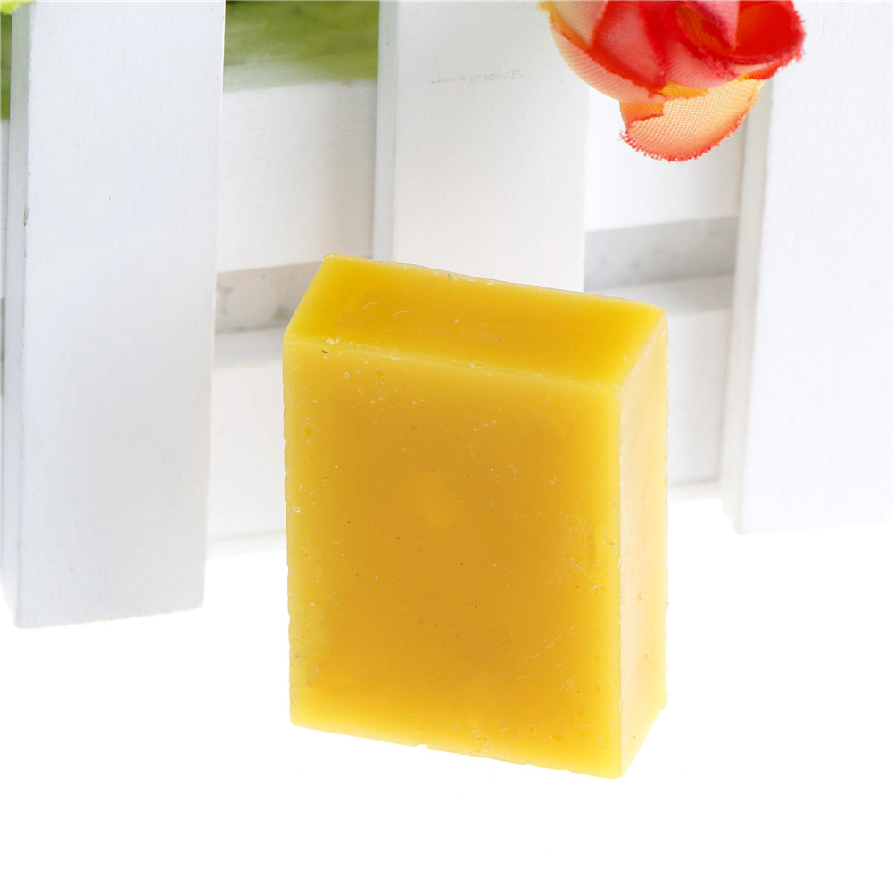 100% Pure Natural Beeswax Candle Soap Making Supplies No Added Soy Lipstick Cosmetics DIY Material Yellow Bee Wax Cera Flava