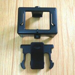 Image 1 - SJCAM Protective Frame Border Case Quick Clip for SJCAM SJ4000 Sj5000 Sj6000 SJ7000 sj9000 SOOCOO C30 H3 H9 Camera Accessories