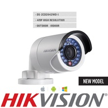 English Version IP camera 4MP Bullet Security Camera with POE Network camera DS-2CD2042WD-I Video Surveillance 4mm