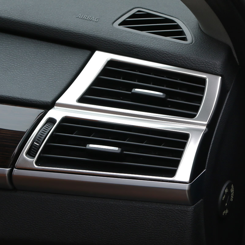 Stainless Interior Accessories Trim Cover For BMW X6 E71 2009 2014