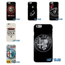 Supercar Alfa Romeo Logo  Silicon Soft Phone Case For Samsung Galaxy A3 A5 A7 J1 J2 J3 J5 J7 2015 2016 2017