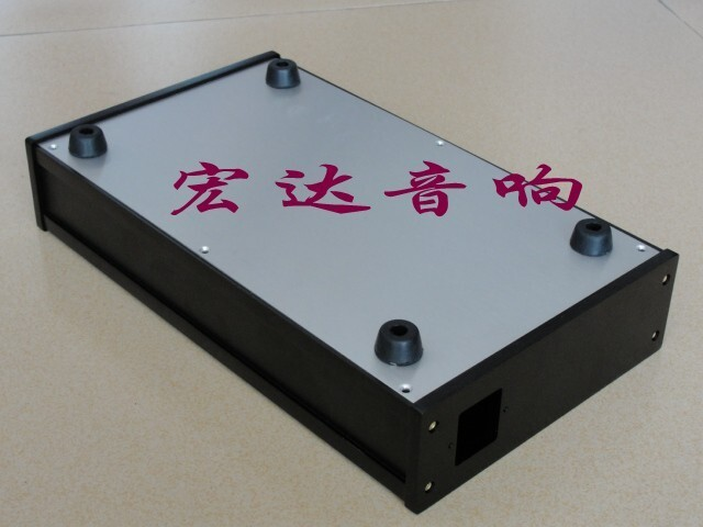 tube amp chassis pre- amp chassis Full aluminum Power amplifier chassis/AMP case Enclosure /PSU box (315*55 *180mm)
