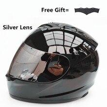 Motorcycle Helmet Men Chopper Scooter Cruiser Full Face Helmet
