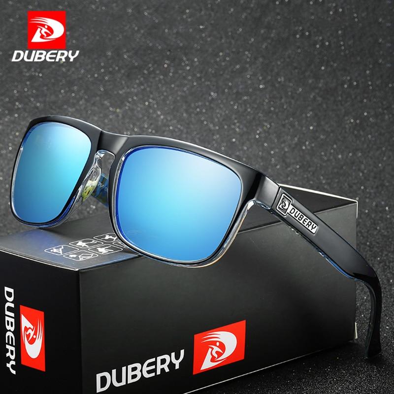 fea951032bd63 DUBERY Quadrados Óculos De Sol Dos Homens Polarizados UV400 Óculos de Sol  de Alta Qualidade dos