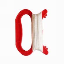 Леска для бумажного змея нитей 15/30/50/60/100 м для детей на открытом воздухе летающий змей в форме буквы D с Форма ручка Линия Строка Семья спорта на открытом воздухе Инструменты