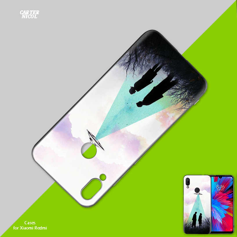The X I Want to Believe Silicone Case Cover for Xiaomi Mi 9 8 Play A1 A2 Redmi Note 7 6 6A 5 Plus S2 GO Lite Pro Pocophone F1