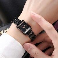 DALISHI Top Brand Ladies Watch Fashion Square Women Watches Famale Fashion Dress Wristwatch Girl Charm Clock Relogio Masculino