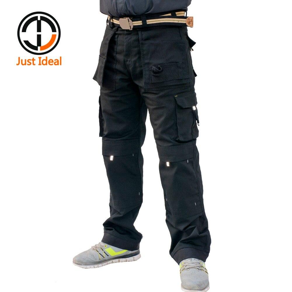 2019 для мужчин военные тактические брюки повседневное длинные мотобрюки холст чиносы брендовая одежда Высокое качество, большие размеры ID624